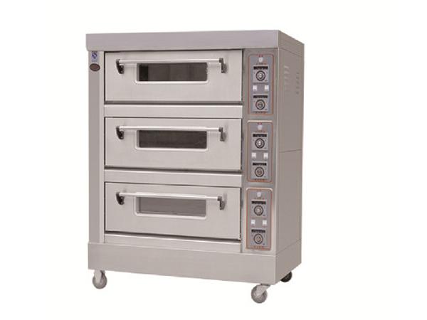 三门六控电烤箱